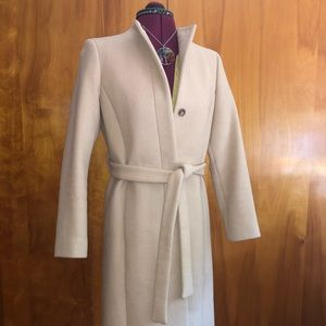 J. Crew band collar woman's coat